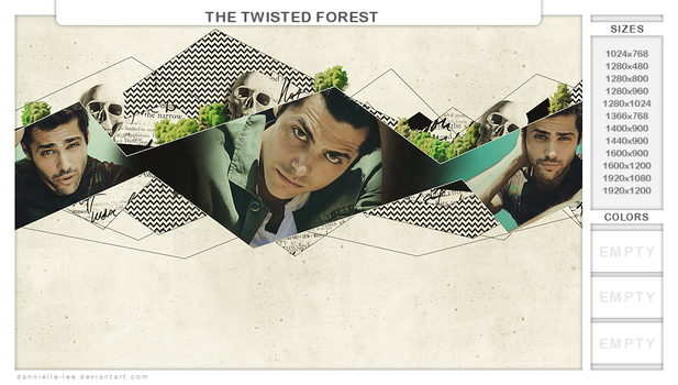 the twisted forest by dannielle-lee
