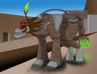 BloodHound Golem by Extermanet