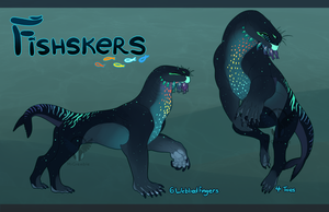 Fishskers (AUCTION CLOSED) by MrGremble