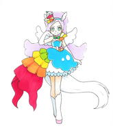 KiraKira Precure A La Mode~Cure Parfait by dream-thunder