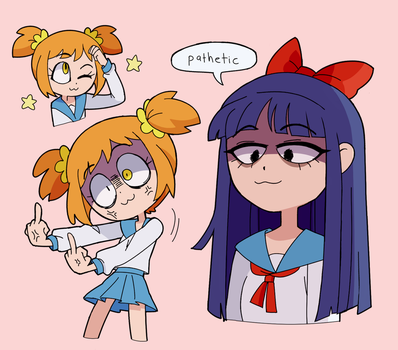 pop team epic by marreeps