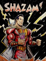 SHAZAM! by Noumier