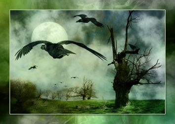 The night of the Crows by Anupthra