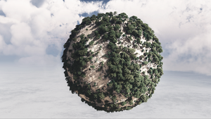 Mini-planet. by Ishamz