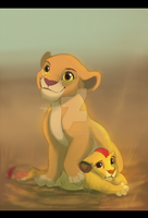 Proud sister by Teparda