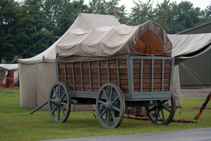 DSC05918 Covered Wagon by wintersmagicstock