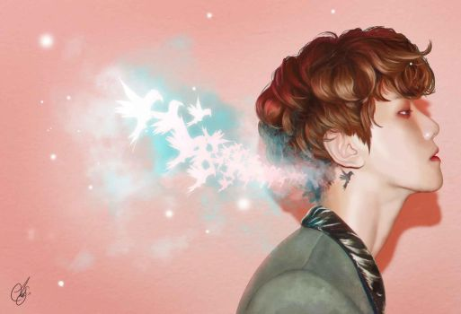 Baekhyun and Birds Full ver by AndreaBunnyOh