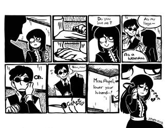 Inking Test, Comic Edition by daughter-thursday