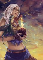 Daenerys Targaryen by Holly-Fox