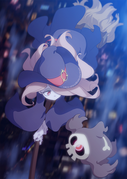 Sucy x Duskull by Aka-Shiro