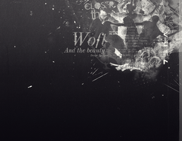 [210913] Wallpaper EXO - Wolf and the beauty by Ngan-Ng2