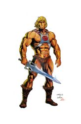He-Man - Most Powerful Man in the Universe! by Axel-Gimenez