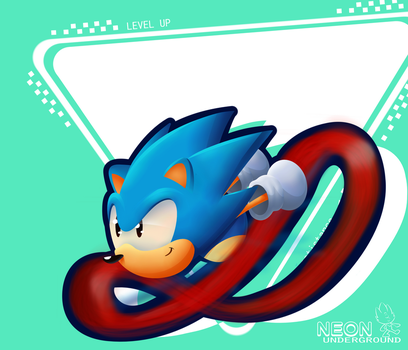 sonic forces: classic sonic by Neonunderground