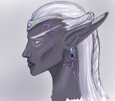 Nightborne Female by MaybeEvans