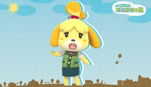 Isabelle (Animal Crossing) - MMD DL by NipahMMD