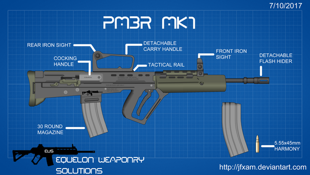 (EWS) PMBR MK1 (Blueprint) by JFXAM