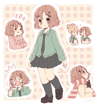LL: Lilly doodles by nemurou