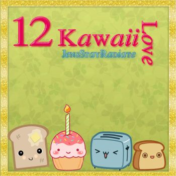 12 Png Kawaii Love! by JensStayRadiate