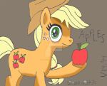 Creeper Apple Jack, LOVES her APPLES by lcponymerch