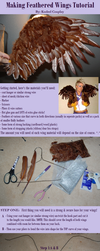 Feathered Wings Tutorial by Kukuzilla