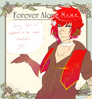 Forever alone Kyran by Mishii-C