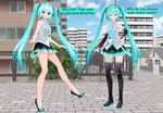 Miku Incarnation Shoe Choices by Mario-and-Sonic-Guy