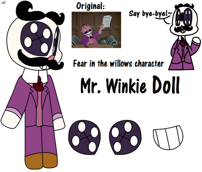 Mr. Winkie  Doll (OC) by Honeytheartist