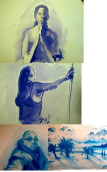 watercolor sketches by smeetrules