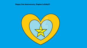 Engine Lullaby 2nd Anniversary Poster by missymandy2