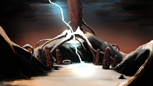 Creation of a Fire Spirit by SolMatter