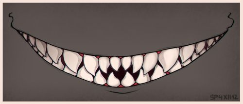 [G] Show me your teeth by GoldenTar