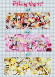 [Talking Request Part 1] #1 #2 #3 and share PSD by MyMinniiee-PJ95