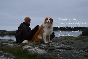 Dog quotes 001 by michaelelsaesser69