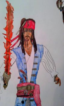 Captain Jack Sparrow POTCO style by Capitan-JackSparrow