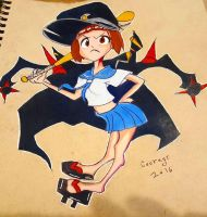 Kill la Kill Fight Club Mako by CartoonWatch