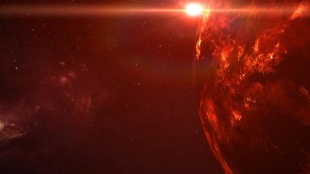 EVE Online Screenshot- The Flare of the Sun by Gilligan2011