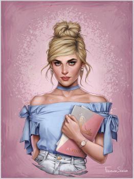 Cinderella by fdasuarez