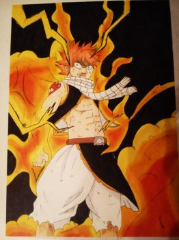 This is the lighning flame dragon! by IshidaYuki