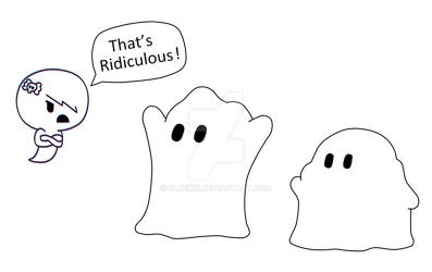 Fake ghosts by BlueXIX