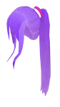 MMD high Ponytail with long side bangs by mbarnesMMD