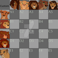 OC Adopts Breeding Chart 1 by ReidVhenan3