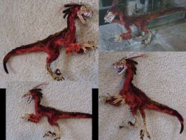 Red Raptor by Amelius