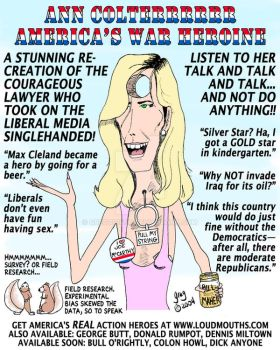 Ann Coulter--Hole in the head