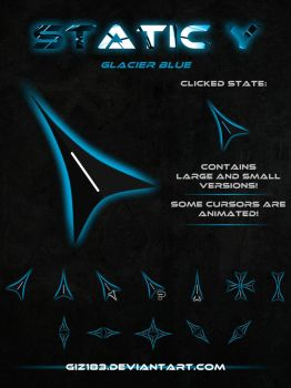 Static Y  - Glacier Blue by giz183