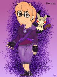 New comic character: Trainer Melissa!! by Kiritost