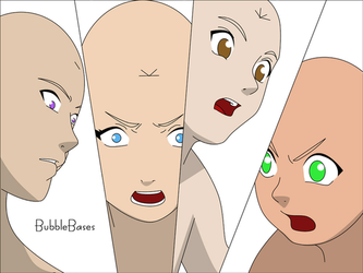 Group Face Base by BubbleBases