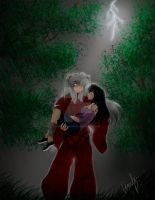 InuKag5: Caught in the Rain by InuKagomeluvrs