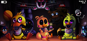 Five Night's at Freddy's 2 by TheNornOnTheGo