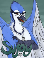 [ commission ] Sujay Badge by simplytresca