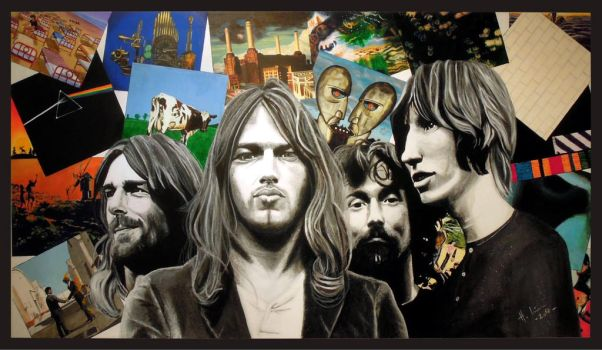 Pink Floyd tribute by scenicart